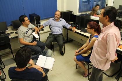 Prof. Assiz de Telejornalismo e o coordenador Osni Dias pautam atuação no #Jobmix2014